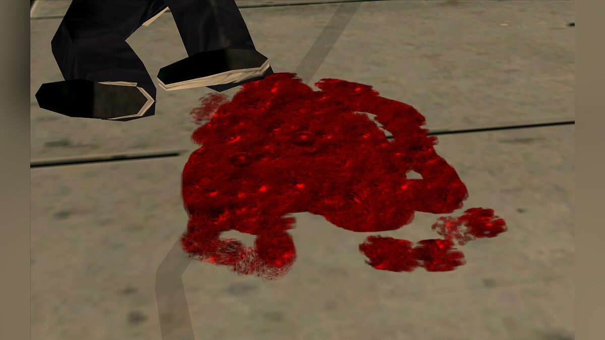 Blood and Water для GTA San Andreas