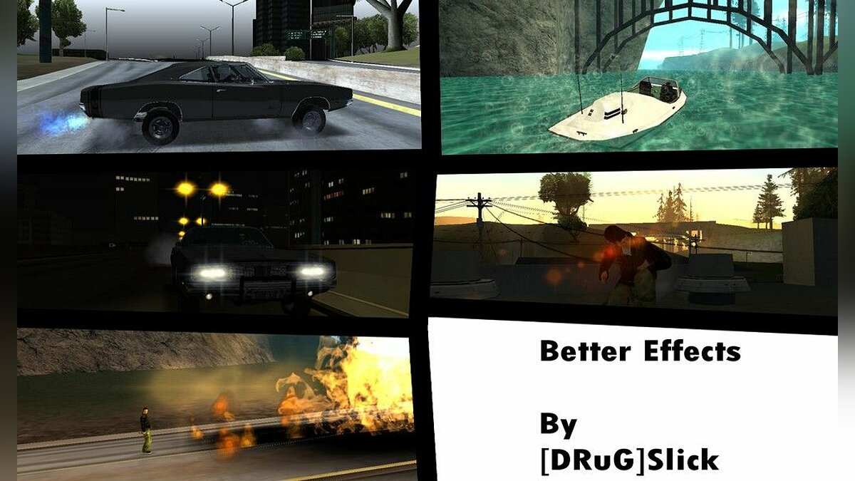 Improved Effects для GTA San Andreas