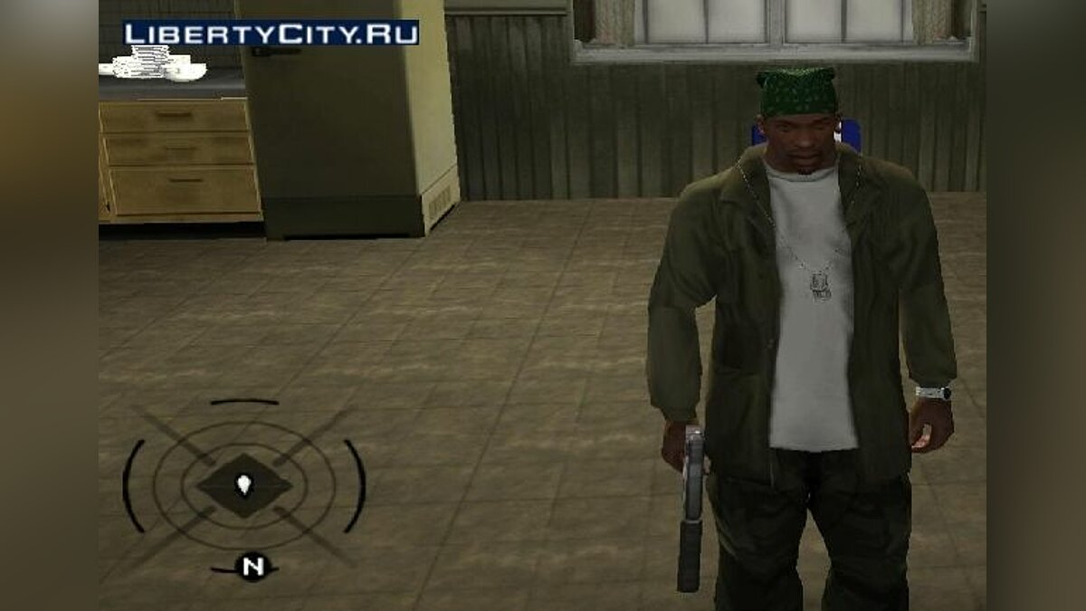 Радар из Assassin's Creed для GTA San Andreas