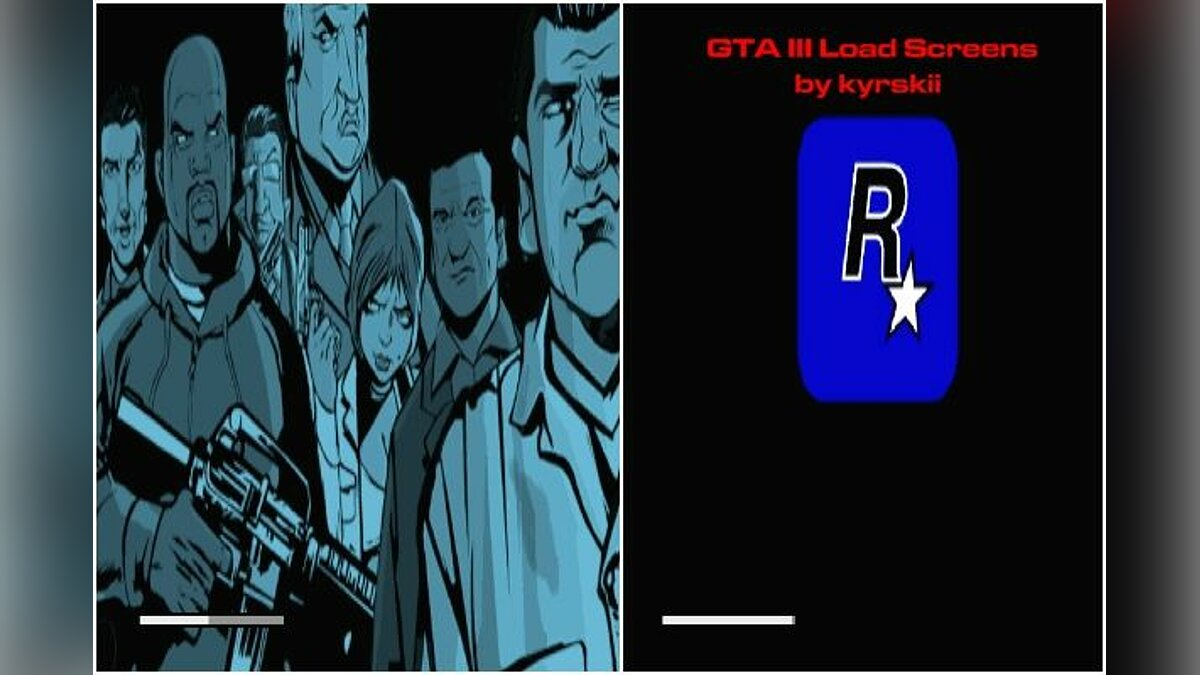 GTA III Load Screens для GTA San Andreas
