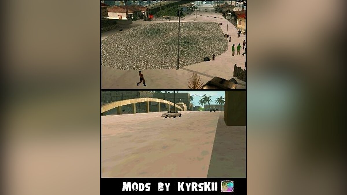 "Дополнение к ""New Year on the Street Groove"" для GTA San Andreas"