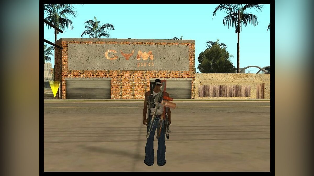 New GYN on the Groove для GTA San Andreas