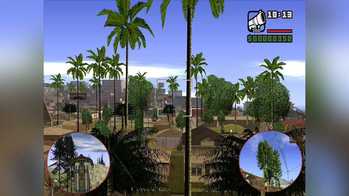 Vegetation Pack Final 2 для GTA San Andreas