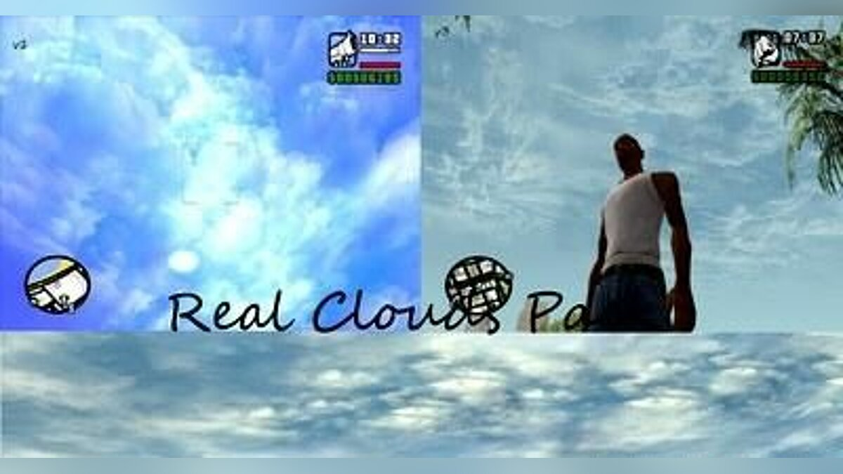Real Clouds Pack для GTA San Andreas
