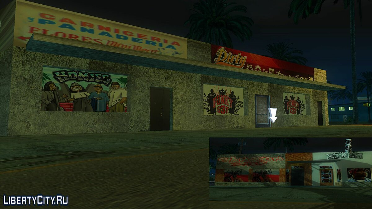 New Binko (Dirty shop) для GTA San Andreas
