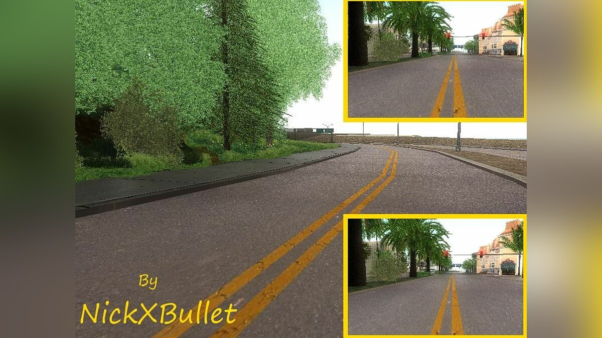 Modification Of The Road in San Andreas для GTA San Andreas