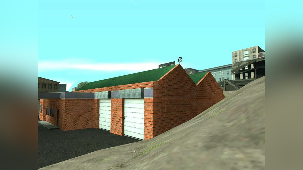 New garage in San-Fierro для GTA San Andreas