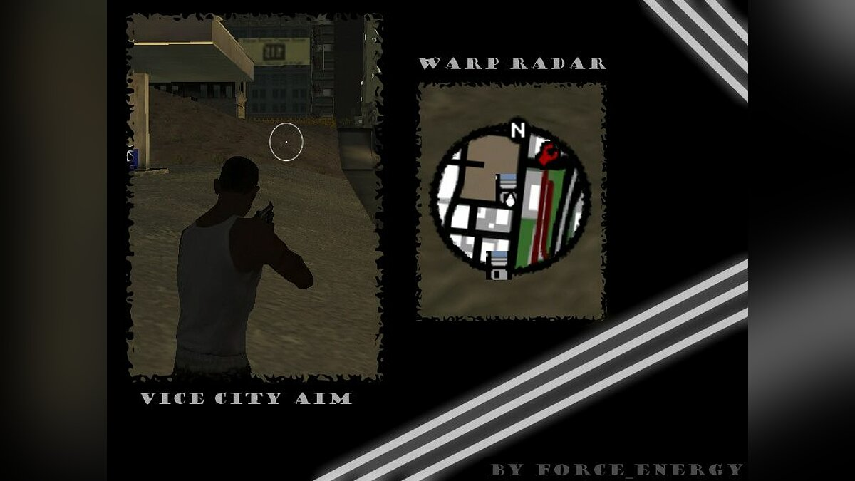Warp Radar + Vice City Aim для GTA San Andreas
