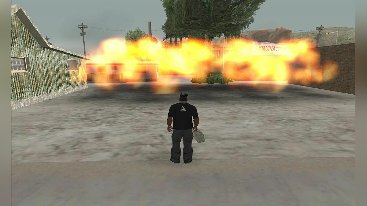 Low Quality Particle Effects для GTA San Andreas