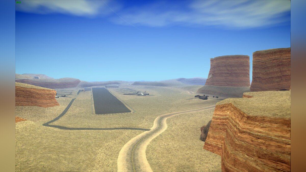 HQ Country Desert v1.3 для GTA San Andreas