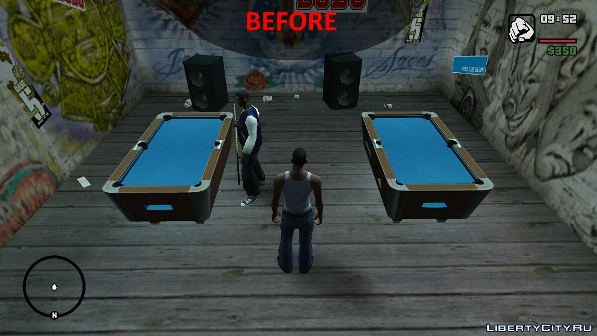 Improved Pool Mini-Game Textures для GTA San Andreas - Картинка #3