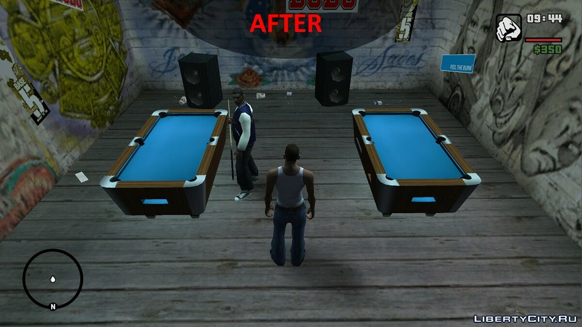 Improved Pool Mini-Game Textures для GTA San Andreas - Картинка #4