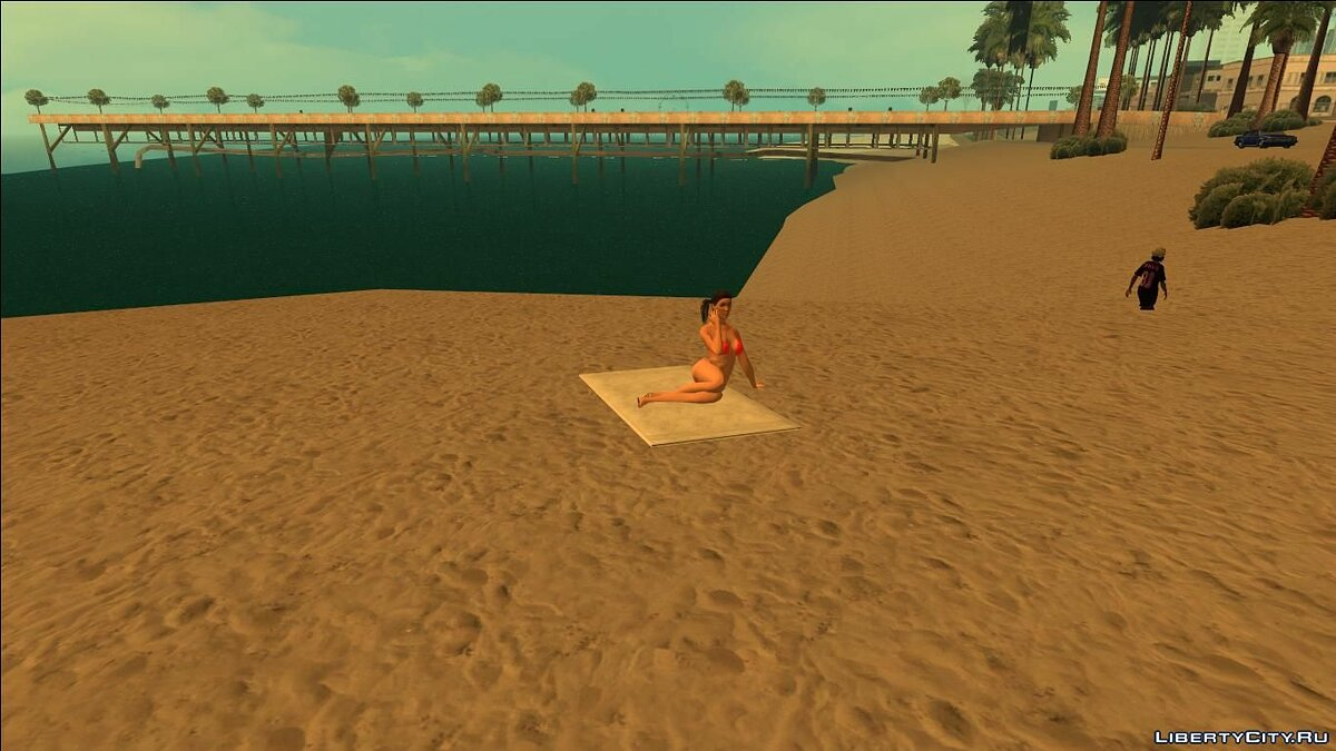 ��екстурный мод Beach Towels from GTA V (With Normal Map) для GTA San Andreas