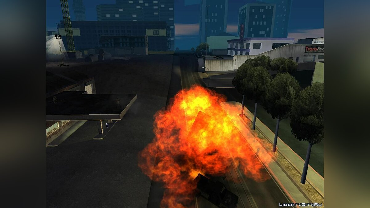 New Effects for low PC FIX для GTA San Andreas