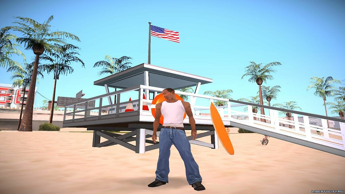 Lifeguard Station для GTA San Andreas