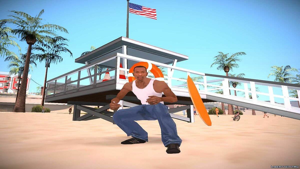 Lifeguard Station для GTA San Andreas - скриншот #3