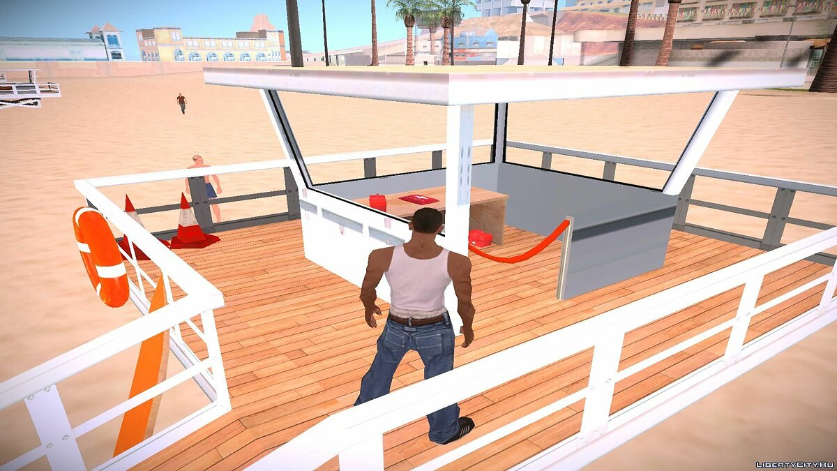 Lifeguard Station для GTA San Andreas - скриншот #2