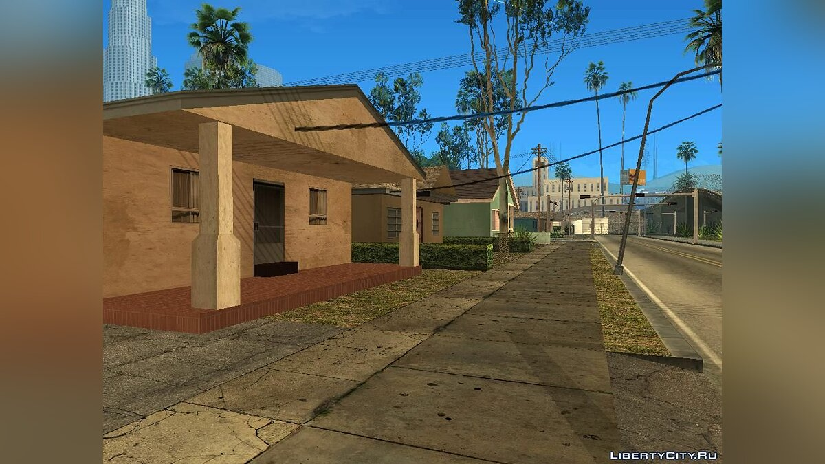 District with GTA V textures V.1 для GTA San Andreas - скриншот #3