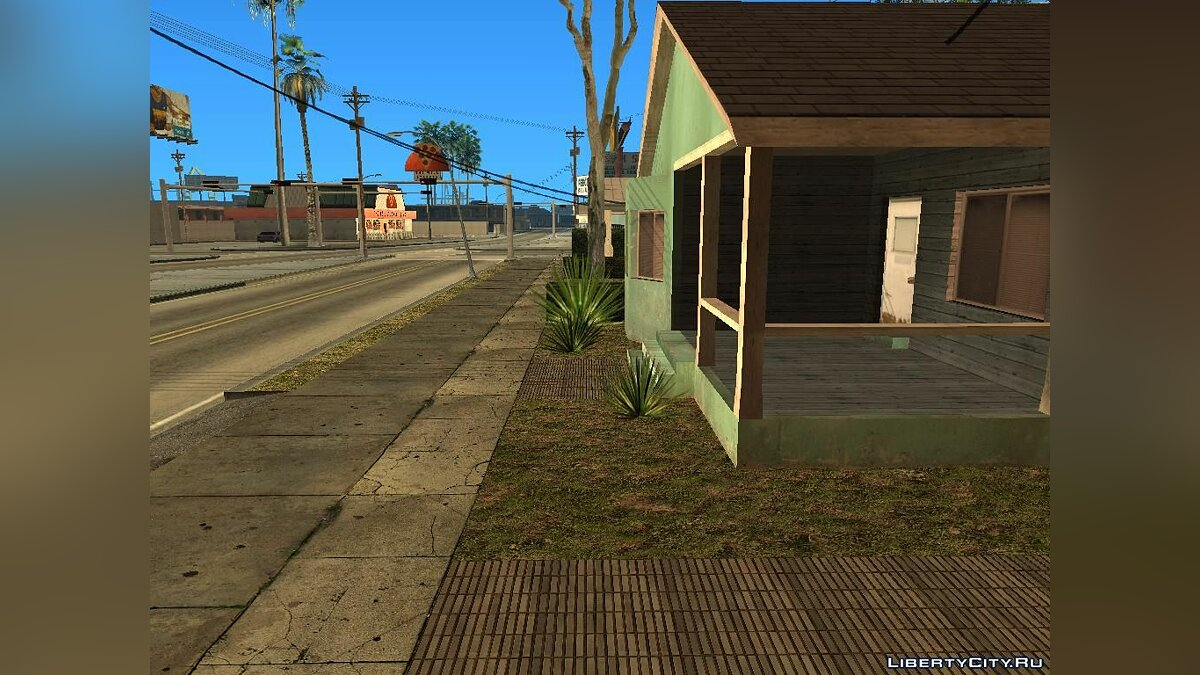 District with GTA V textures V.1 для GTA San Andreas - скриншот #4