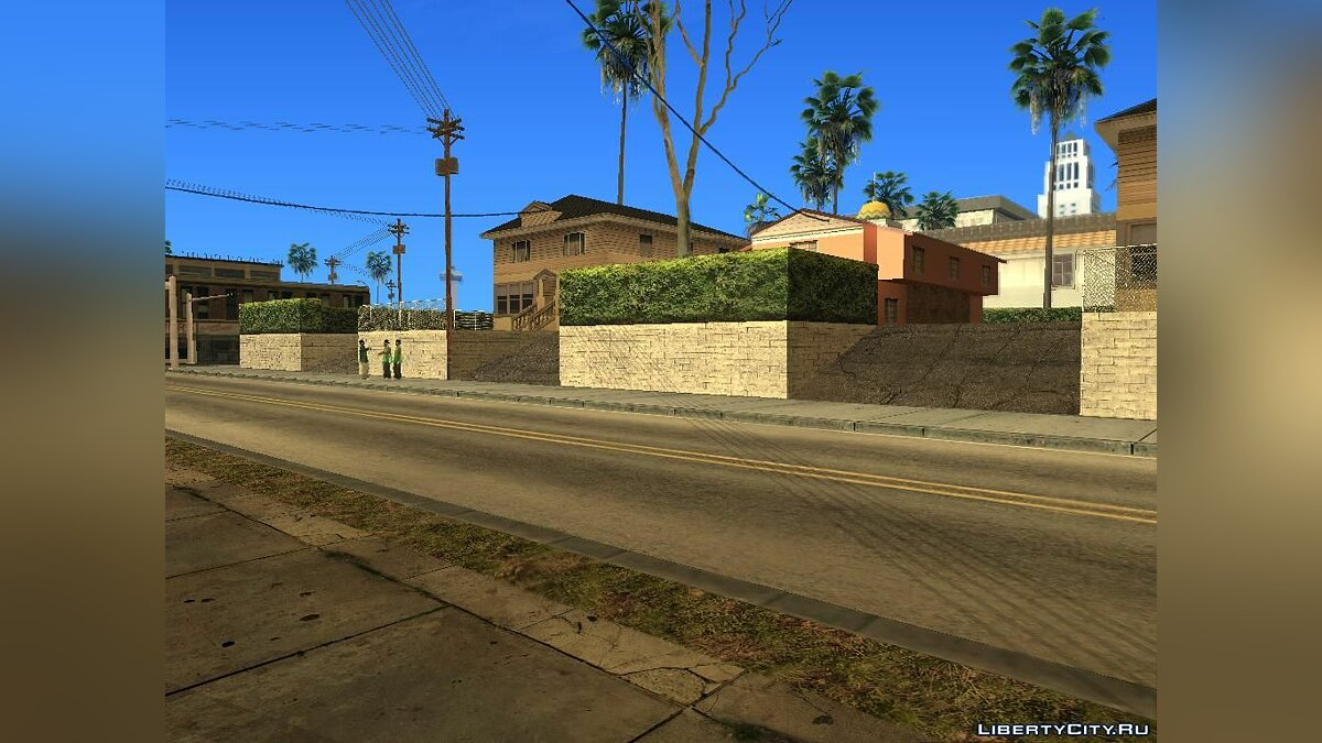District with GTA V textures V.1 для GTA San Andreas - скриншот #5