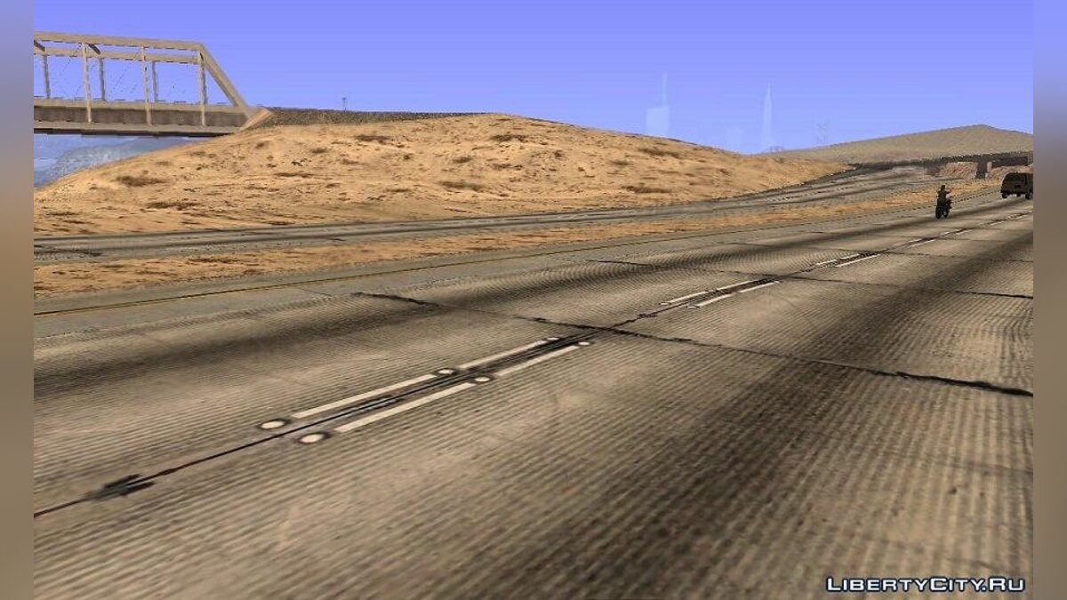 GTA V textures for GTA SA countryside & desert by Maximcss v1.+BONUS для GTA San Andreas - скриншот #8