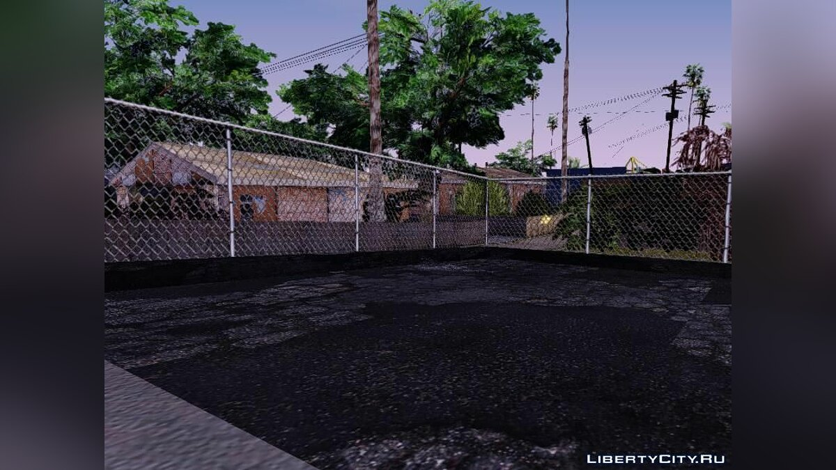 Gangton Houses RETEXTURED для GTA San Andreas - скриншот #2