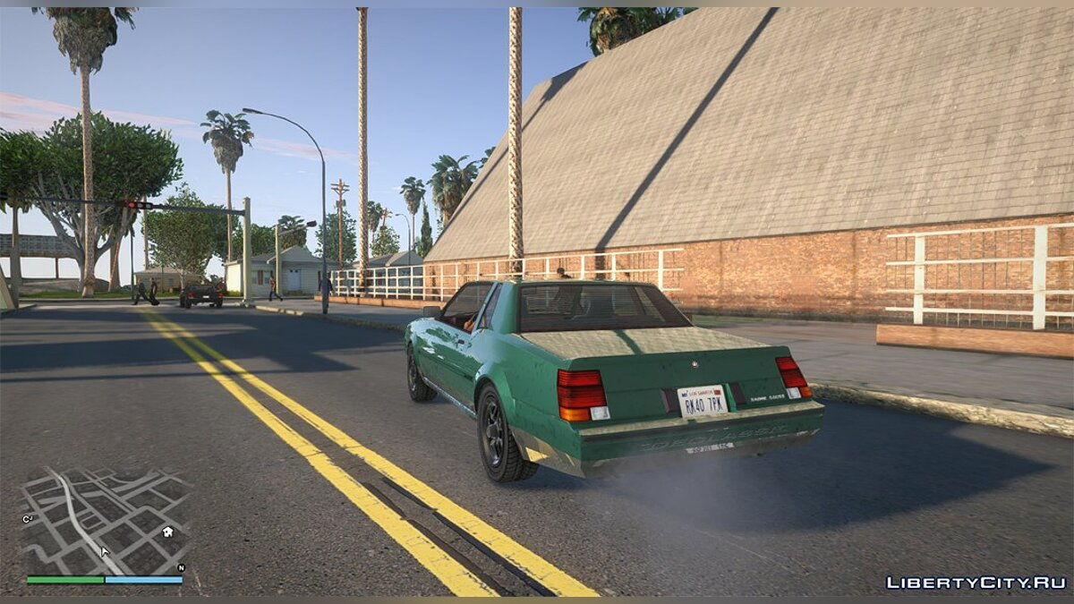 Текстурный мод GTA IV textures + Real HQ Roads fixed для GTA San Andreas