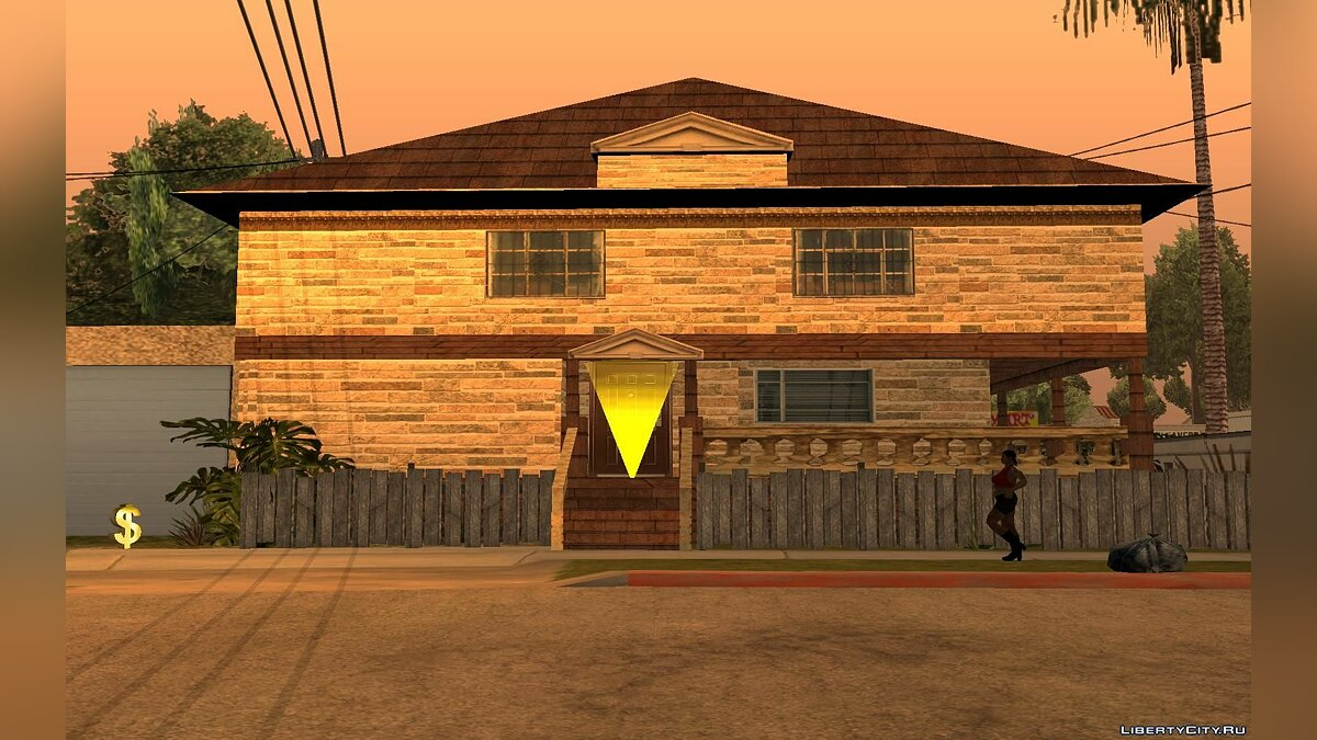 New house for CJ для GTA San Andreas