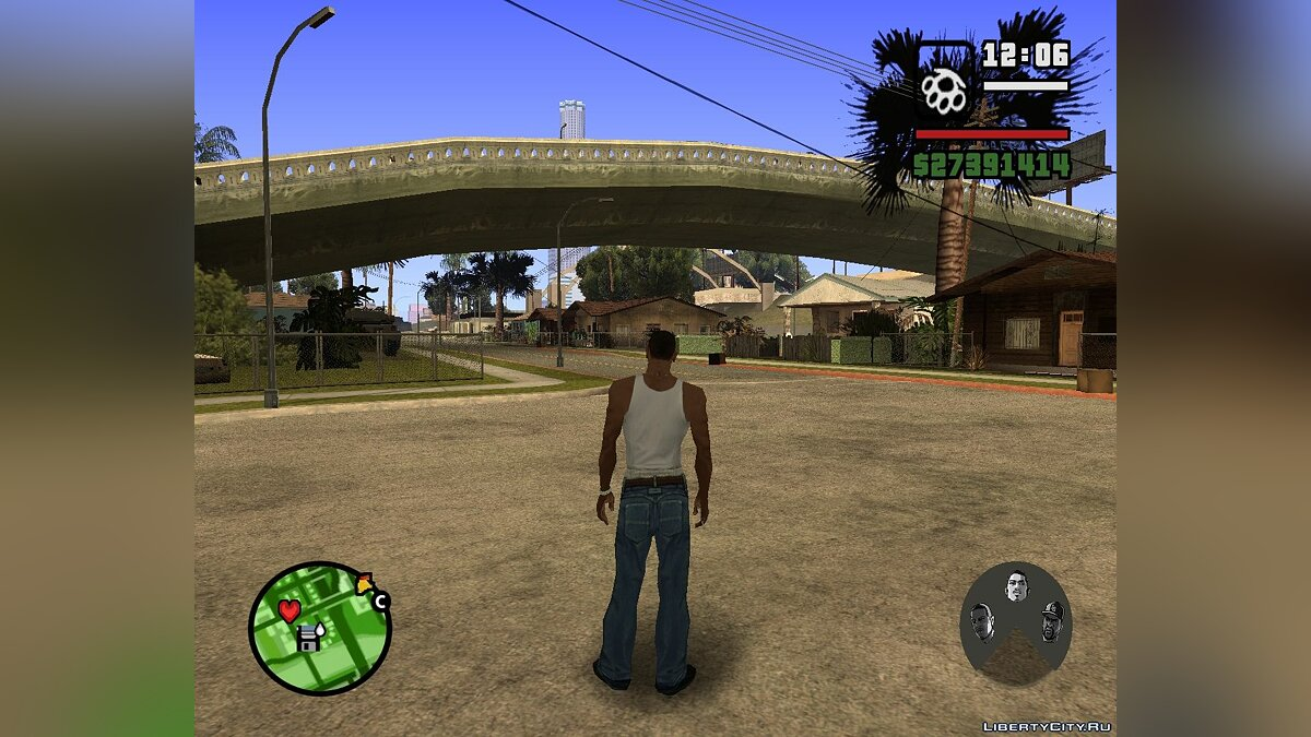 Char switch updater v 1.0 для GTA San Andreas