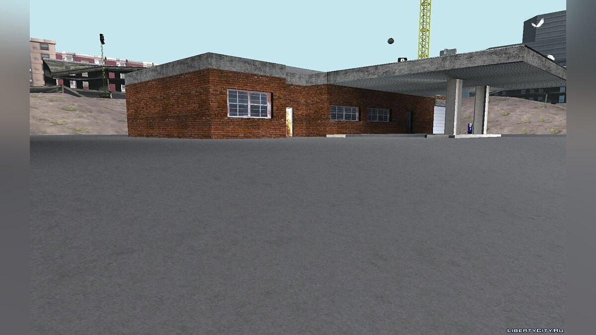 Doherty Garage Retexture для GTA San Andreas