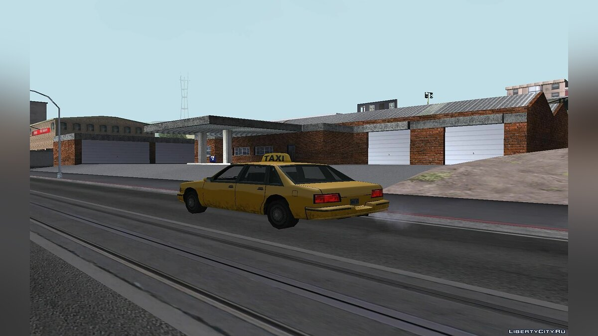 Doherty Garage Retexture для GTA San Andreas - скриншот #3