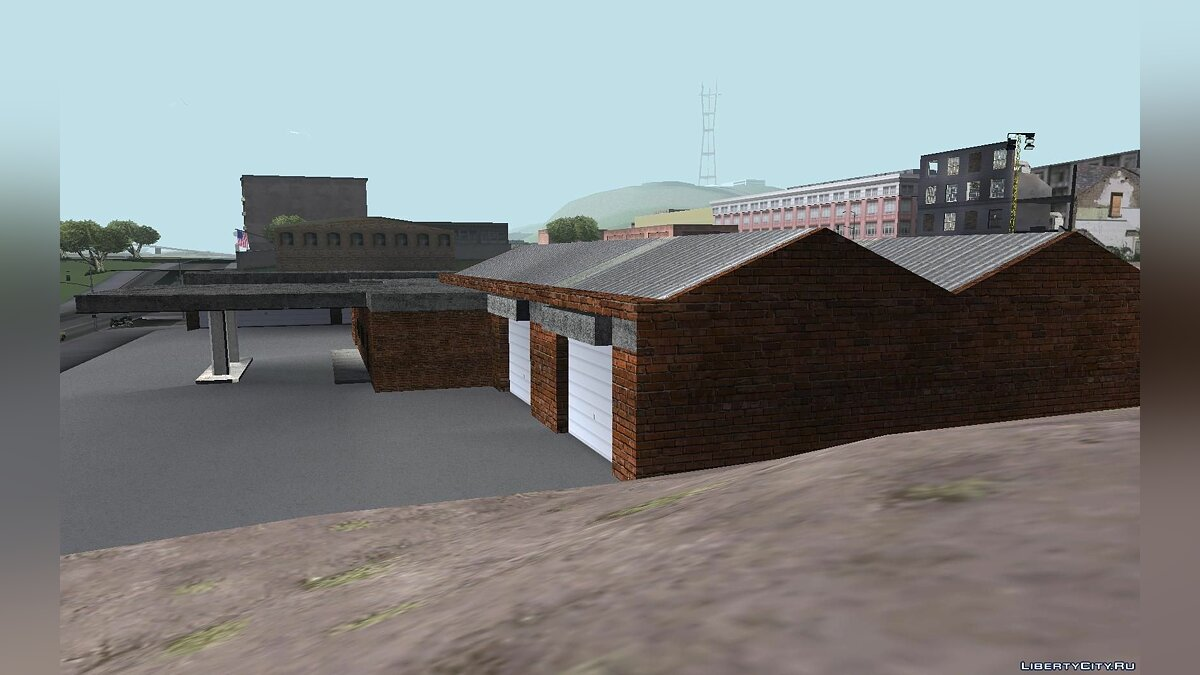 Doherty Garage Retexture для GTA San Andreas - скриншот #2