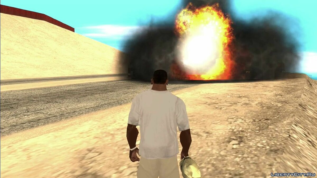 New Great Effects 1.6 для GTA San Andreas - Картинка #3