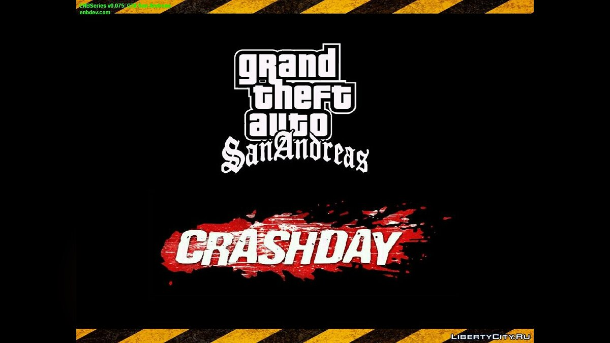 Menu & Loads In Style Crashday для GTA San Andreas - скриншот #2