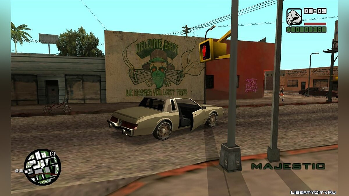 GTA V HQ Wall (We missed you last time) для GTA San Andreas