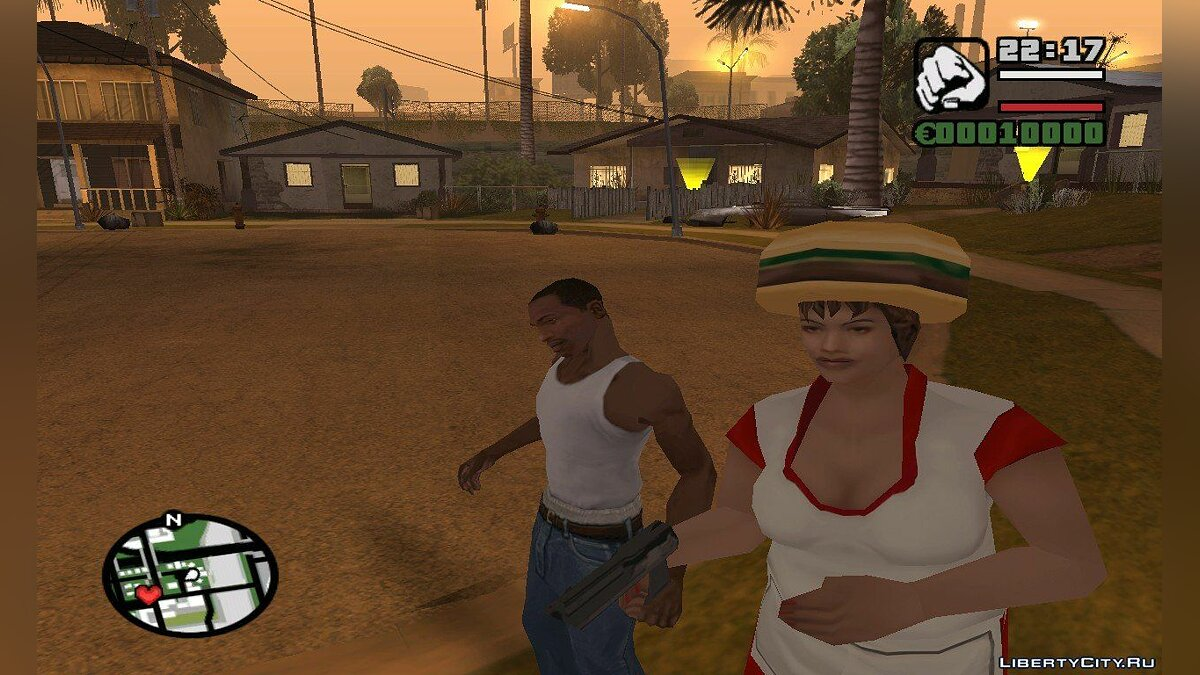 hd textures for wfyburg для GTA San Andreas