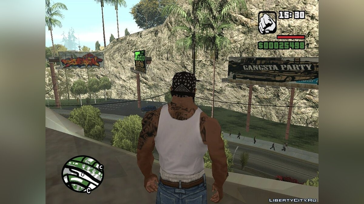 Текстурный мод Billboards With Graffiti для GTA San Andreas