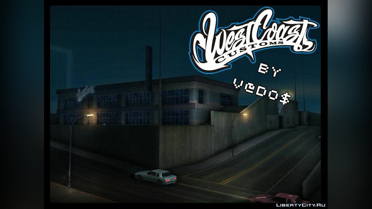 New textures-West Coast Customs для GTA San Andreas