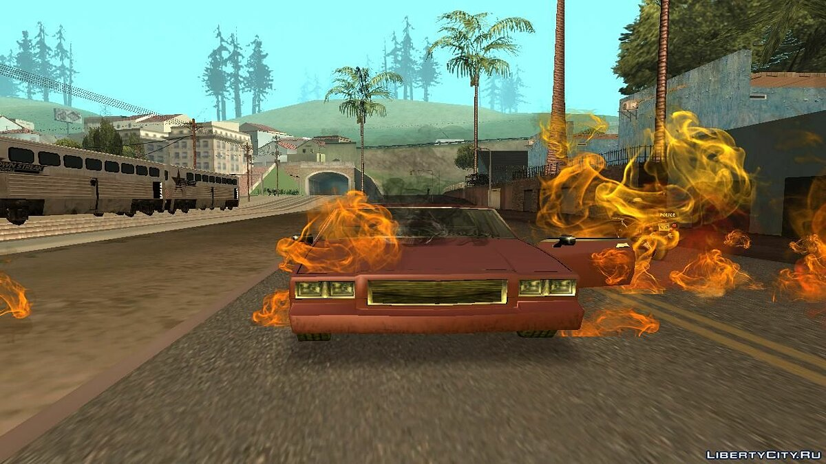 Текстурный мод New Texture For The Original Effects для GTA San Andreas