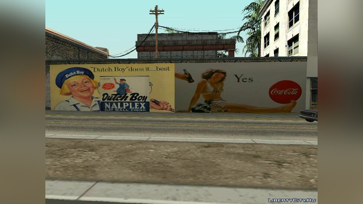 Текстурный мод San Andreas Billboards v1.3 для GTA San Andreas