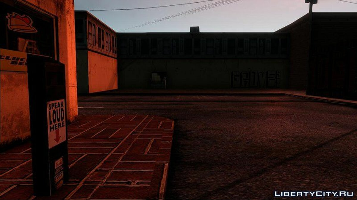 |K-Retexture| Cluckin Bell для GTA San Andreas - скриншот #4