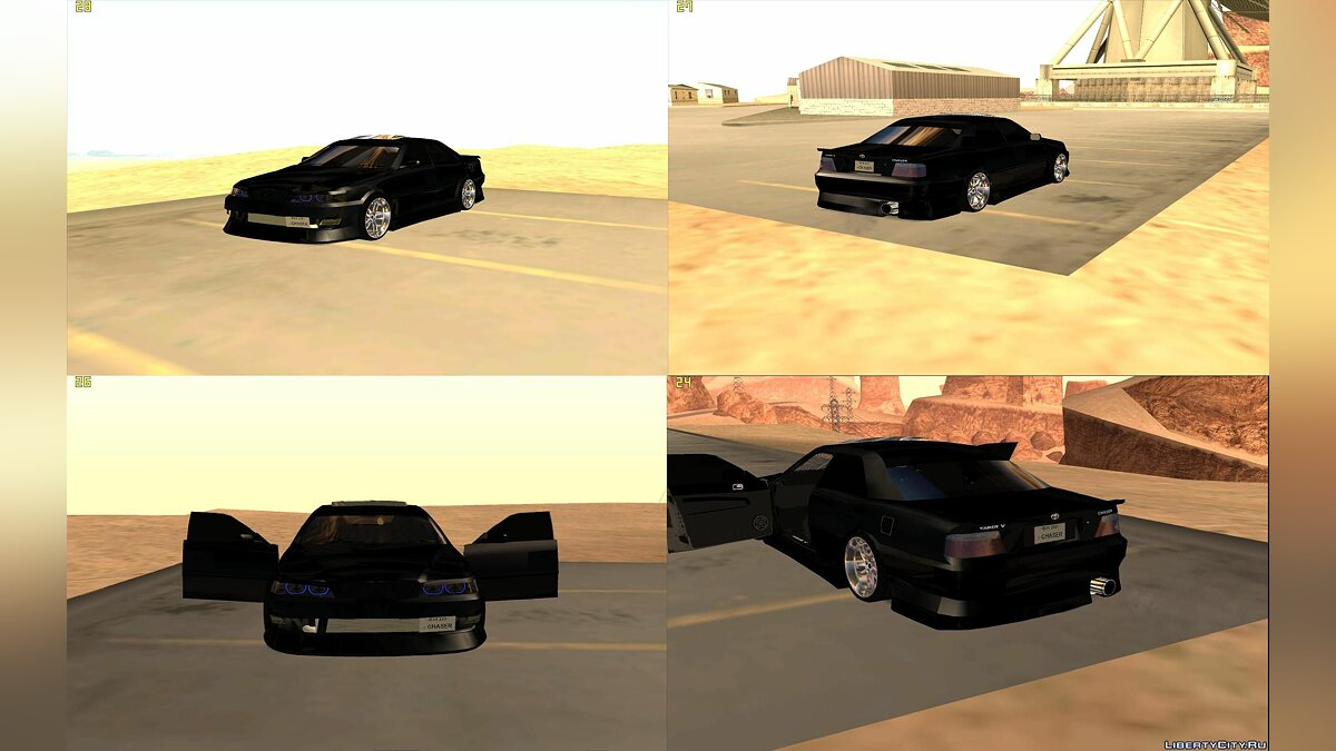 Toyota Chaser JZX100 tunable для GTA San Andreas