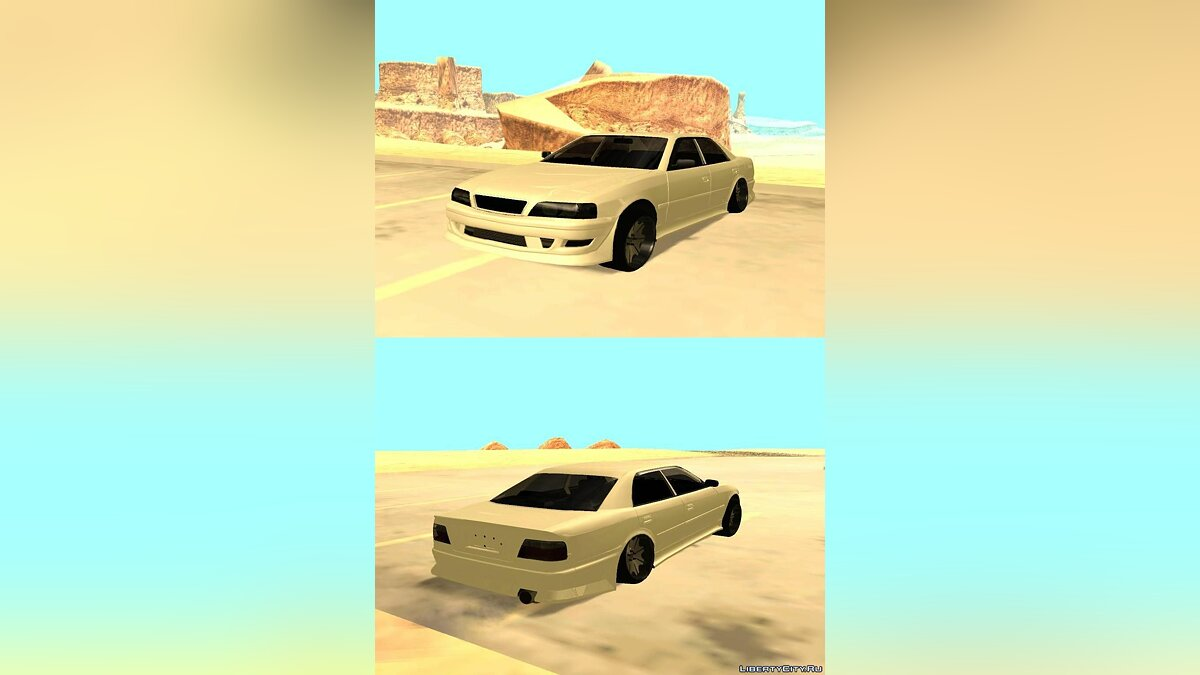 Toyota Chaser JZX100 by TCW для GTA San Andreas