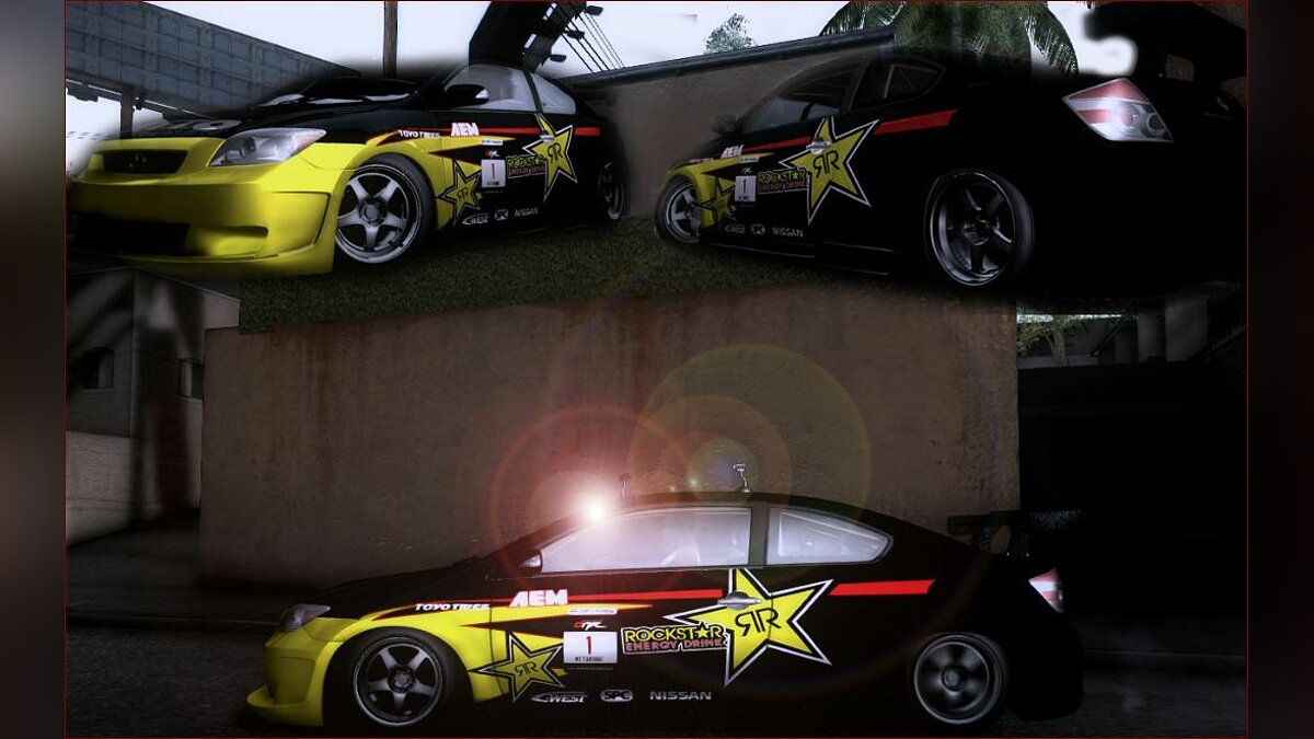 Scion TC Rockstar Team Drift для GTA San Andreas