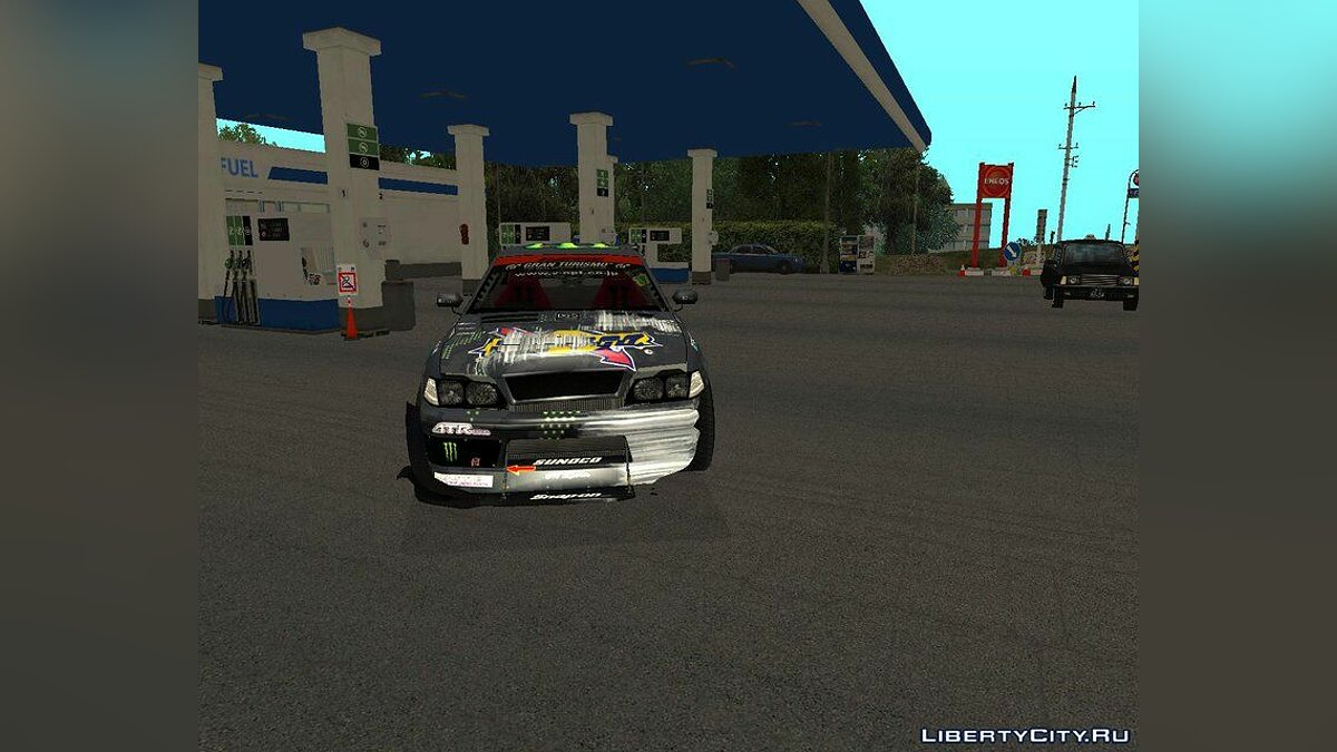 Машина Toyota D1GP Toyota Mark II Sunoco_Monster для GTA San Andreas