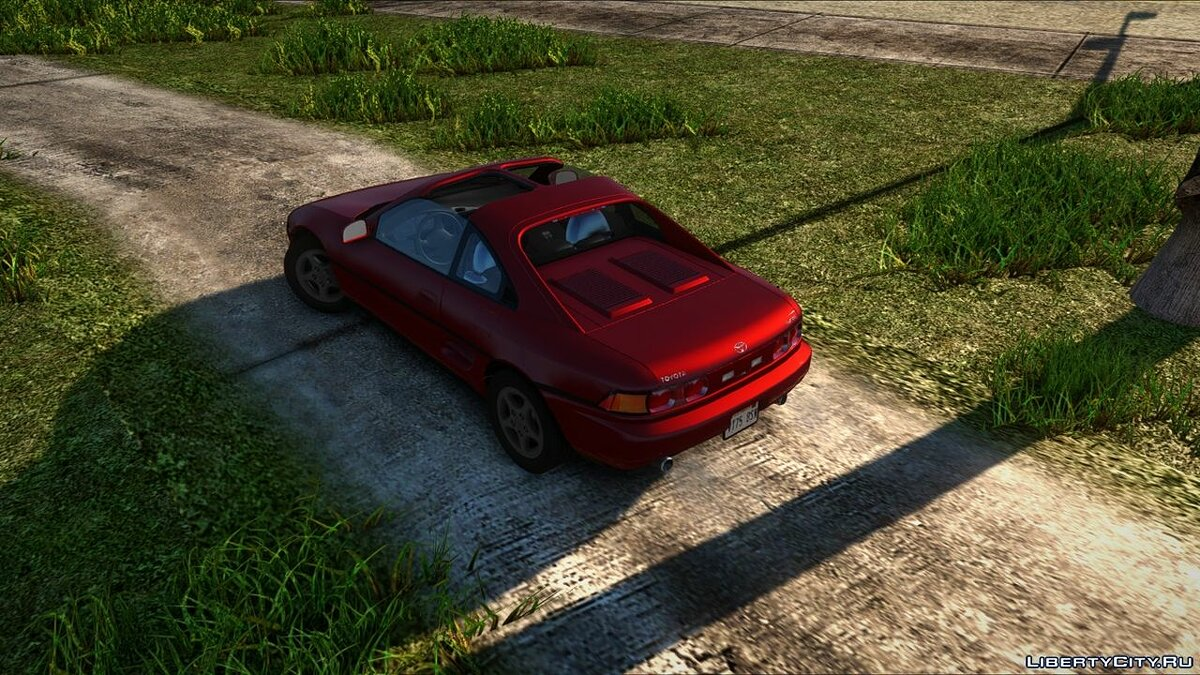 Машина Toyota 1991 Toyota MR2 Turbo [SW20]  (US-Spec) для GTA San Andreas