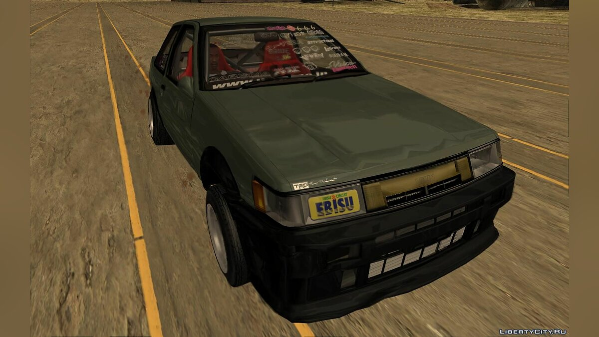 Машина Toyota Toyota AE86 Levin (Coupe) - Vision TopTeen для GTA San Andreas