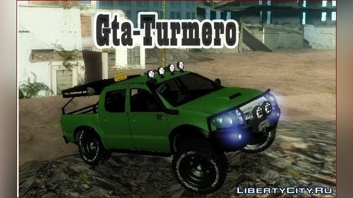 Toyota Hilux Rally Version для GTA San Andreas