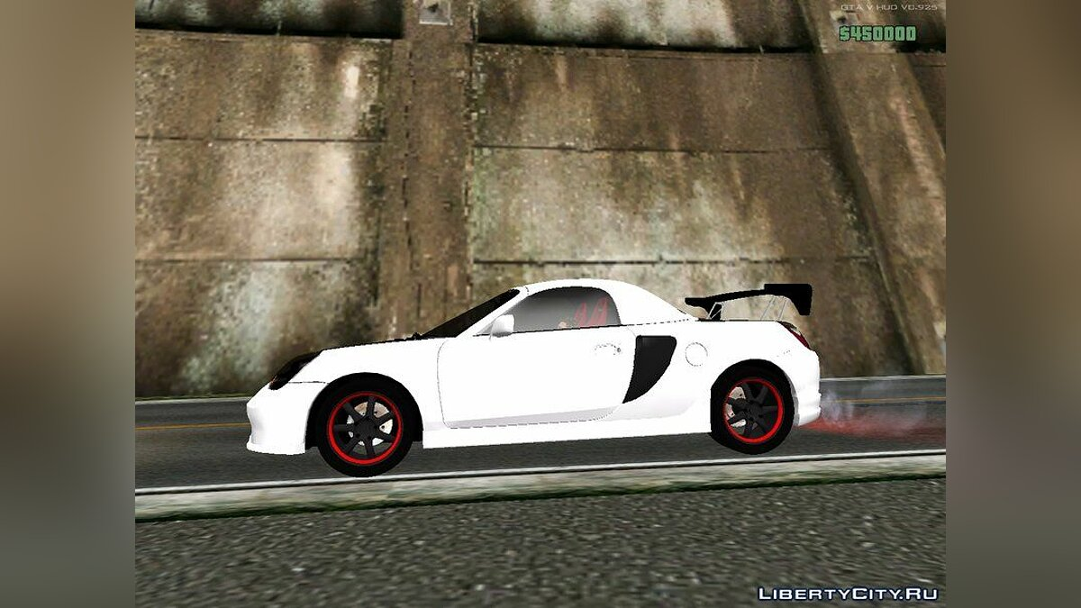Машина Toyota Initial D fifth Stage Kogashiwa Kai Toyota MR-S C-ONE для GTA San Andreas