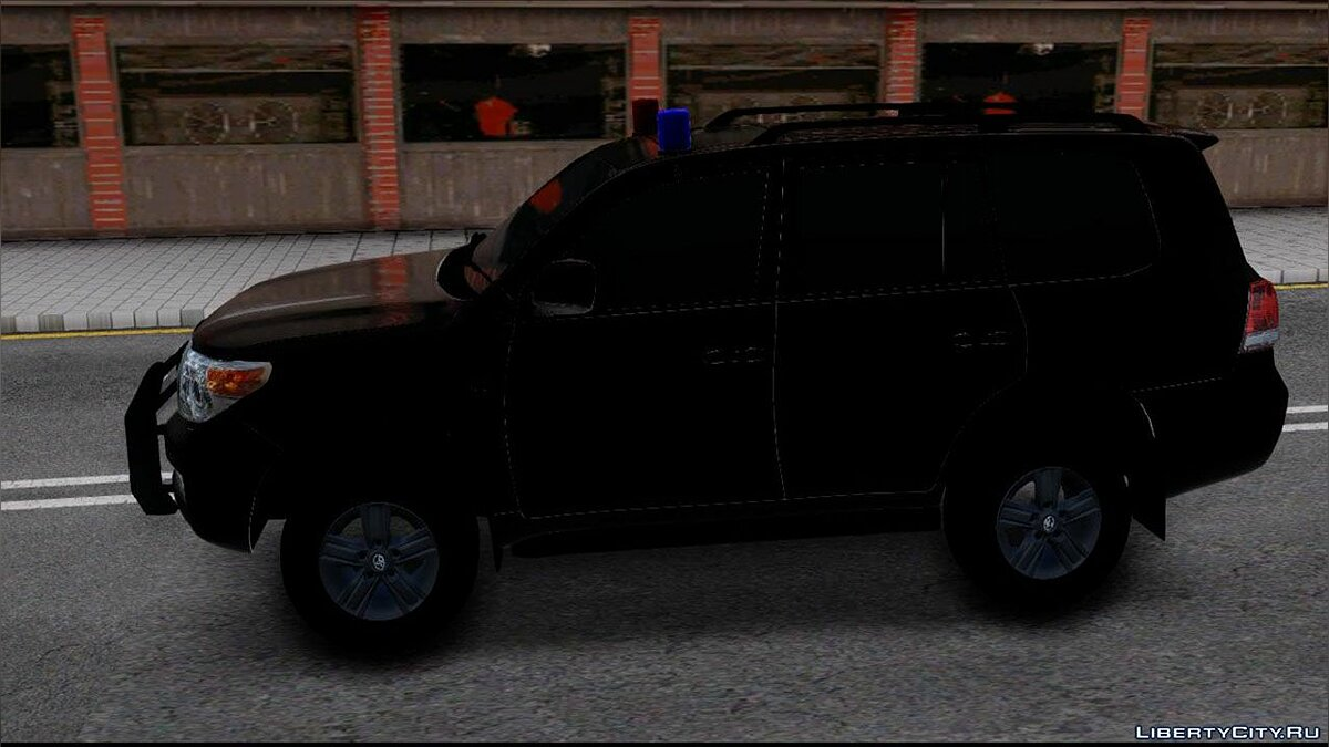 Машина Toyota Toyota Land Cruiser 2013 FBI High PC для GTA San Andreas